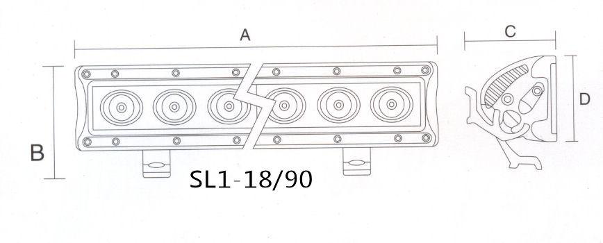 схема авто светодиодная