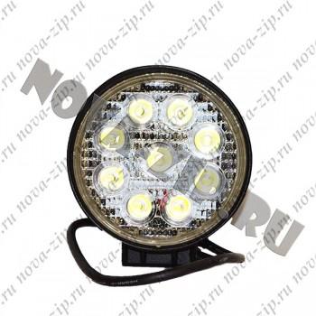 светодиодные-фары-люстры-линейки-SFKR-927-(-HML-0727-30-градусов-)-вид-спереди