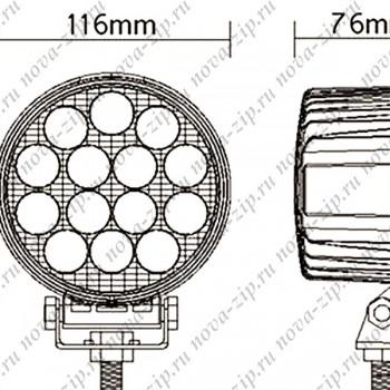 светодиодные-фары-люстры-линейки-sf-14-42-hml-1442-60-градусов-размеры-и-схема-подключения