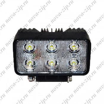 светодиодные-фары-SFM-6-18—(HML-1518-Угол-Свечения-30-60)-вид-спереди