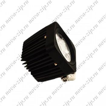 светодиодные-фары-SFS-4-12-(HML-1410-угол-свечения-60-градусов)-вид-сбоку
