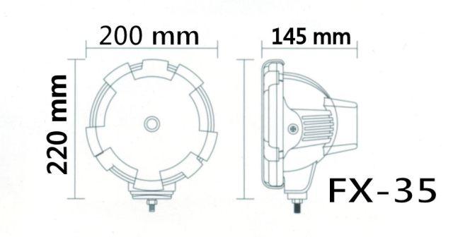 Ксеноновые фары FX-35