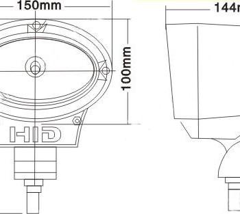 схема установки ксеноновая фара hid FX-2011 нижний новгород