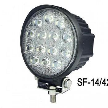 42W-LED-Work-Lamp-SF-14/42-угол свечения 60 градусов -светодиодные-фары_нижний_новгород