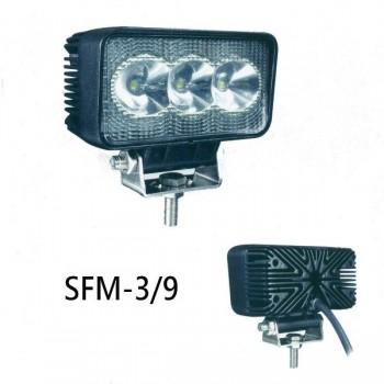 9w led светодиодная фара sfm-3-9