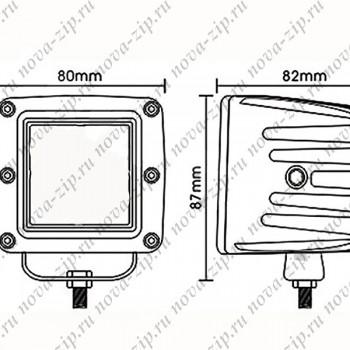 светодиодные-фары-рабочего-света-SFS-6-18-(HML-1218-угол-свечения-8-градусов)-схема-подключения