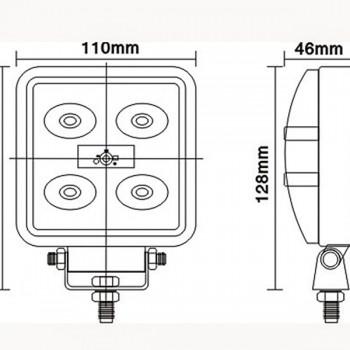 светодиодные-фары-люстры-линейки-SFKV-515-(HML-0215-угол-свечения-30-60-градусов)-размеры-и-схема-подключения