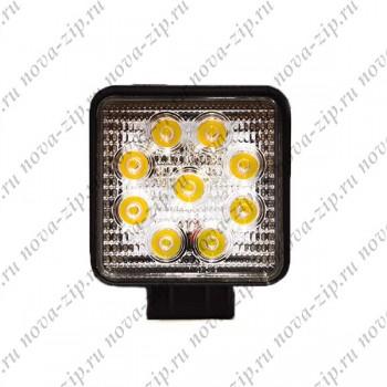 светодиодные-фары-SFKV-927-(HML-0627-угол-свечения-30-градусов)-вид-спереди