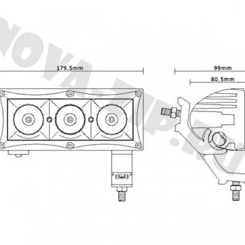 светодиодные-фары-люстры-линейки-sfl-3-30-схема-подключения-и-размеры
