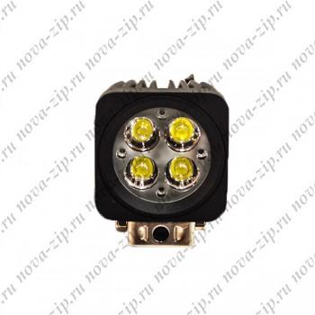 светодиодные-фары-SFS-4-12-(HML-1410-угол-свечения-60-градусов)-вид-спереди