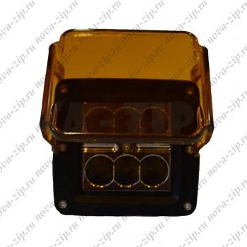 светодиодные-фары-рабочего-света-SFS-6-18-(HML-1218-угол-свечения-8-градусов)-вид-спереди