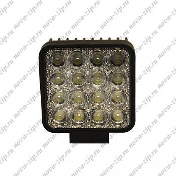 светодиодные-фары-рабочего-света-SFKV-16-48-вид-спереди